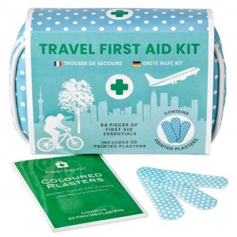 84 Piece Vintage Inspired Mini First Aid Kit by Yellodoor