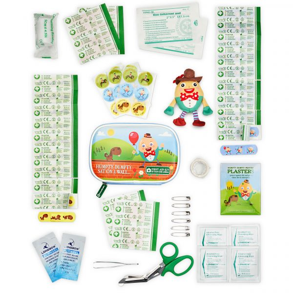 Humpty Dumpty Travel Baby First Aid Kit by Yellodoor
