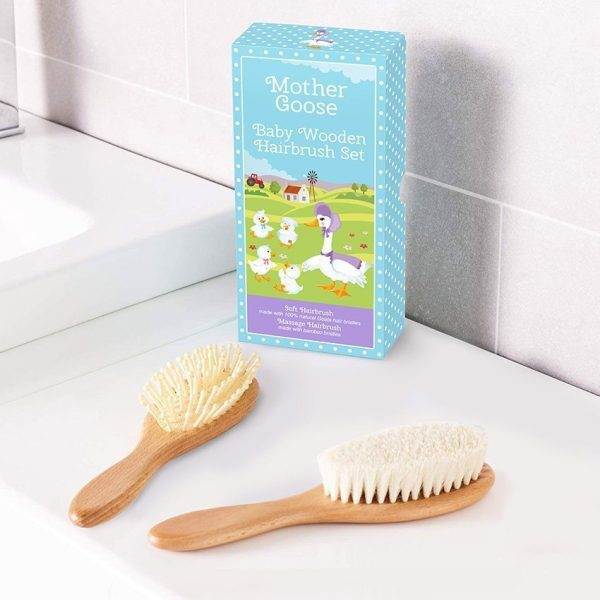 All-Natural Baby Hair Brush Set by Yellodoor 5