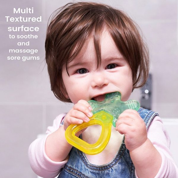 Mother Goose Cool & Play Teether with Rattle Handle 3