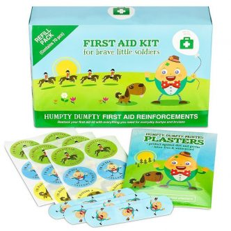 Humpty Dumpty First Aid Kit Refill Pack by Yellodoor